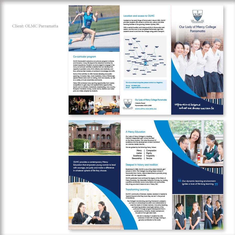 OLMC Parramatta | Kerri Valkova Freelance Graphic Designer